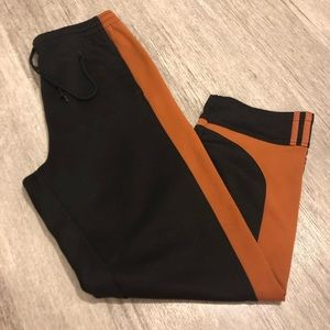 Adidas color block VTG polyester Sweatpants